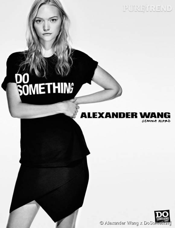 Gemma Ward pour Alexander Wang x DoSomething.