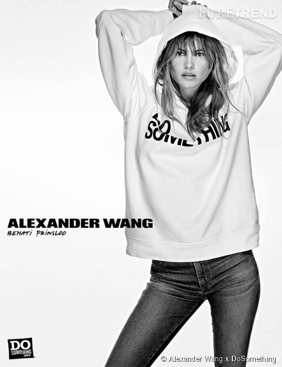 Behati Prinsloo pour Alexander Wang x DoSomething.