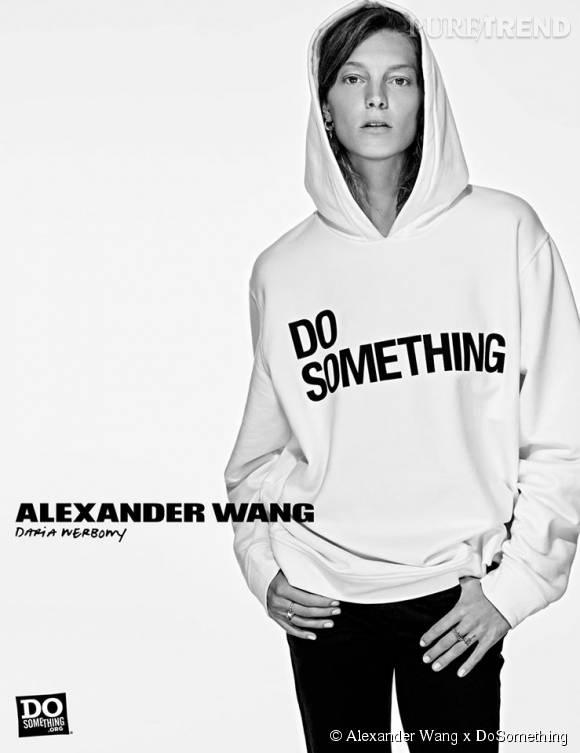Daria Werbowy pour Alexander Wang x DoSomething.