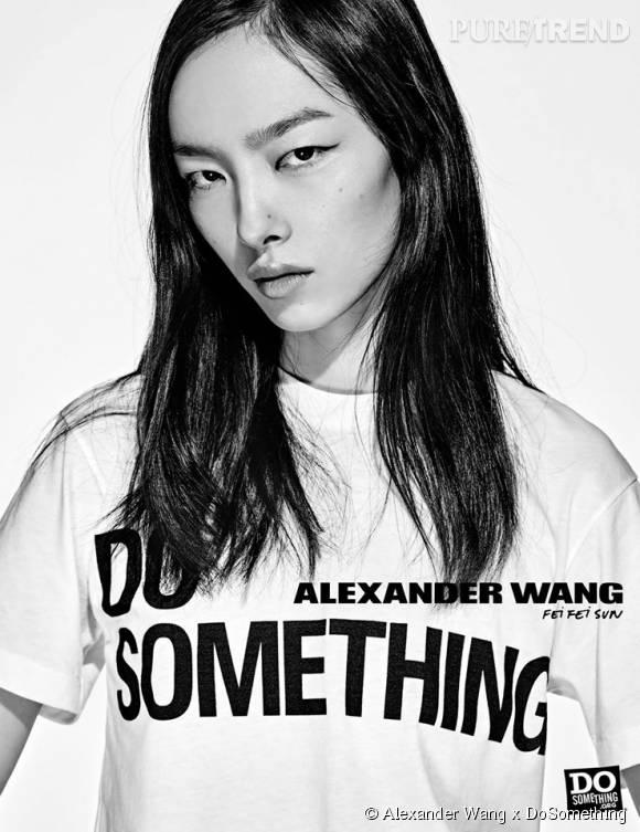 Fei Fei Sun pour Alexander Wang x DoSomething.