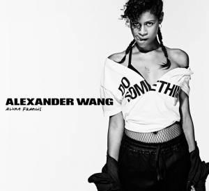 Aluna Francis pour Alexander Wang x DoSomething.