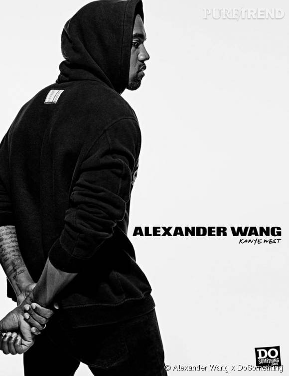 Kanye West pour Alexander Wang x DoSomething.