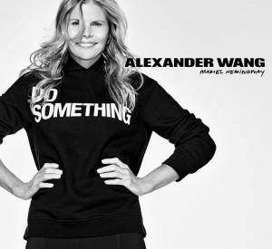 Mariel Hemingway pour Alexander Wang x DoSomething.