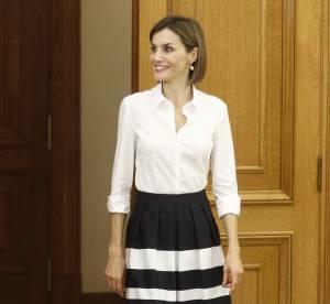 Letizia d'Espagne, reine chic et rétro pour la rentrée