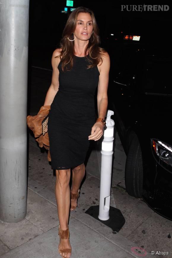 Cindy Crawford, une maman sublime de 49 ans.