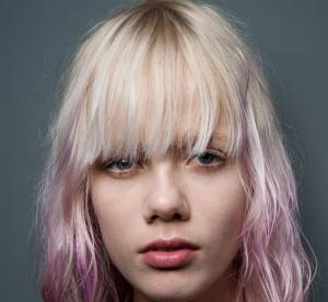hair chalk craie pour cheveux deux techniques de coloration temporaire - Coloration Violet Pastel