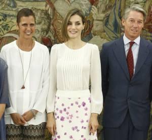 Letizia d'Espagne, beauté fleurie pour les beaux yeux de son mari