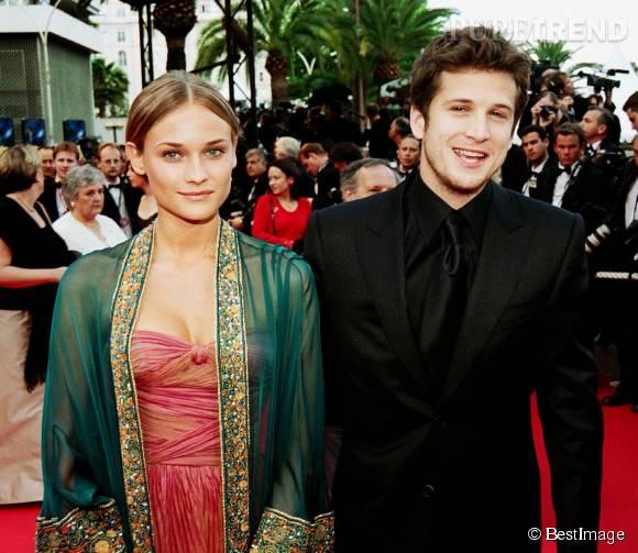 Diane Kruger et Guillaume Canet, le couple glamour du cinéma français au début des années 2000.
