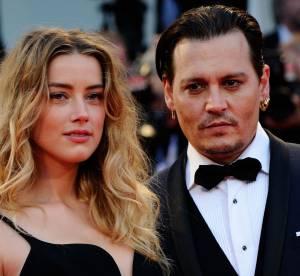 Johnny Depp et Amber Heard : Très amoureux sur le tapis rouge à Venise