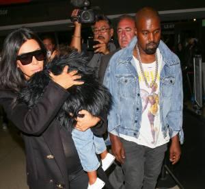 Kim Kardashian et Kanye West : North assaillie par les paparazzis à l'aéroport