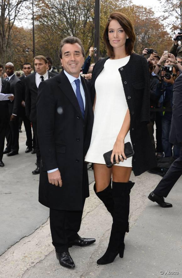 Après deux filles, Jade et Arnaud Lagardère auront peut-être la chance d'avoir un fils, pour changer !