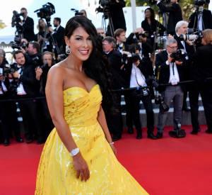 Ayem sur le red carpet à Cannes.