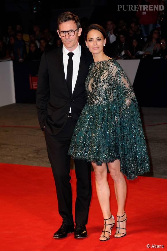 Michel Hazanavicius et Bérénice Bejo ont illuminé le tapis rouge de la Mostra de Venise.