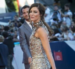Anna Mouglalis a opté pour une robe recouverte de sequins.