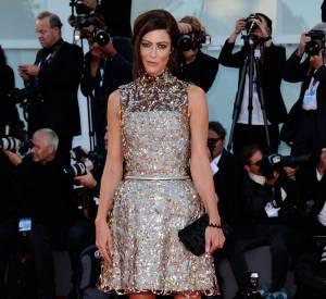 Anna Mouglalis, très élégante au 72e Festival international du film de Venise.