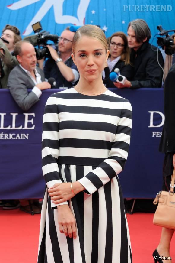 L'actrice fait partie du Jury Révélation du 41e Festival de Deauville.