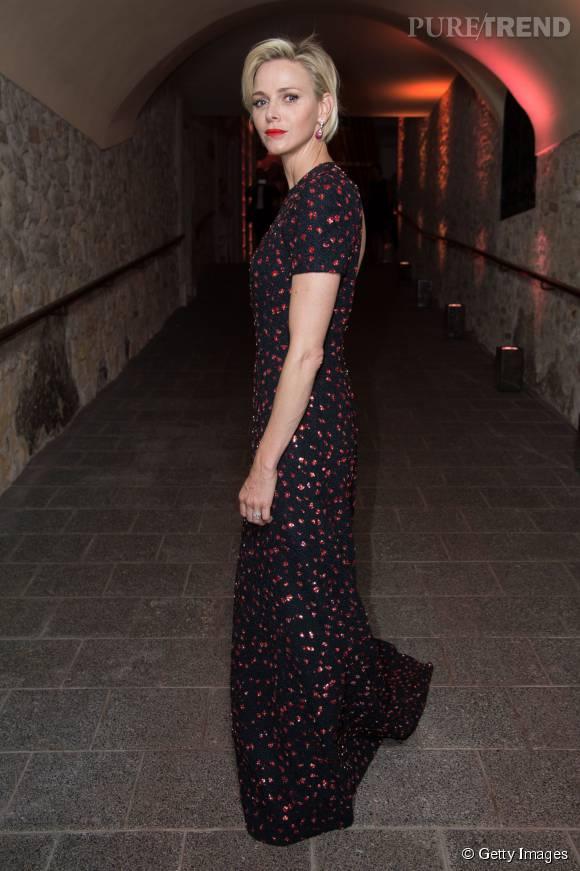 Charlène de Monaco a illuminé la soirée de remise du Prix de la Fondation princesse grace USA, le 5 septembre dernier.