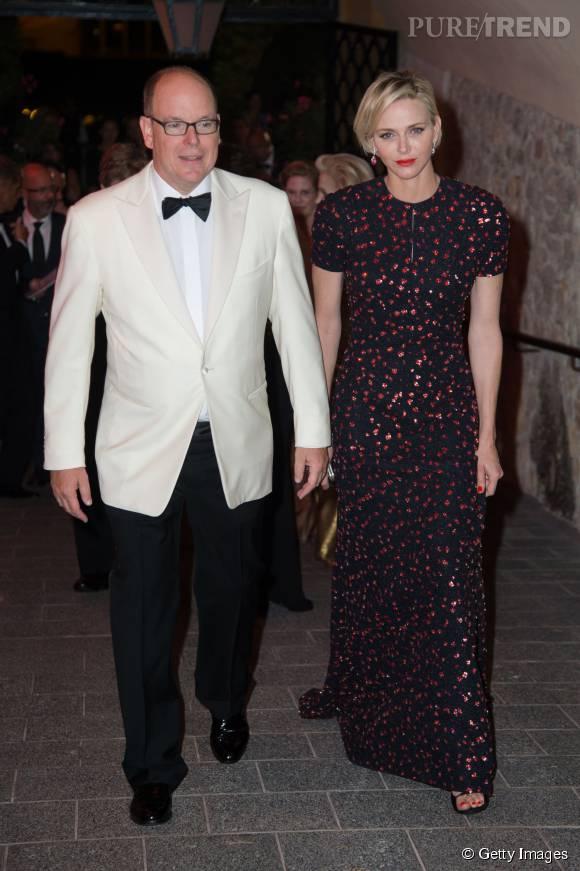 Charlène de Monaco et son mari le prince Albert II de Monaco.