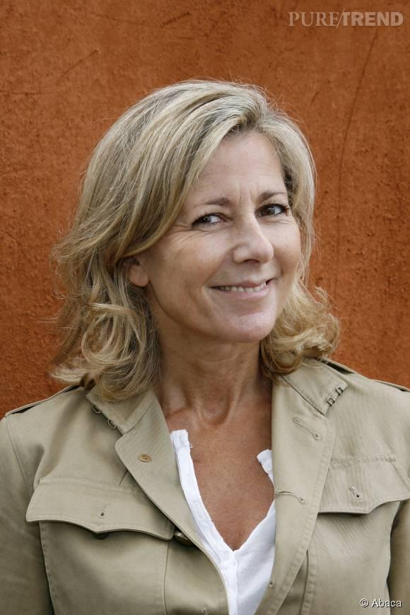 Claire Chazal à Roland Garros en juin 2010.