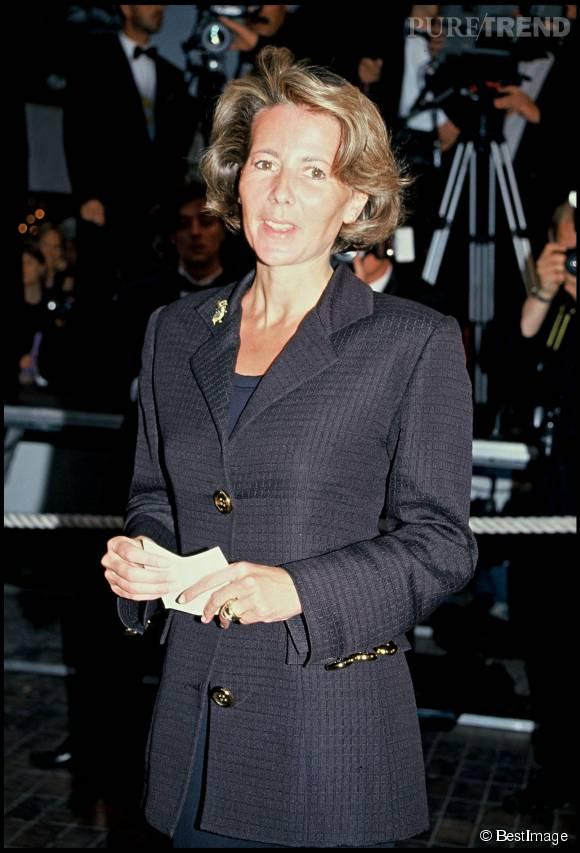 Claire Chazal et Jean-Pierre Foucault en mai 2004.