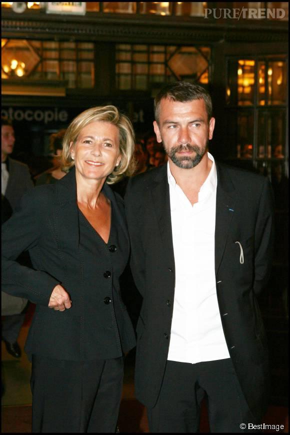 Claire Chazal et Philippe Torreton à la 20ème cérémonie des Molières en 2006.