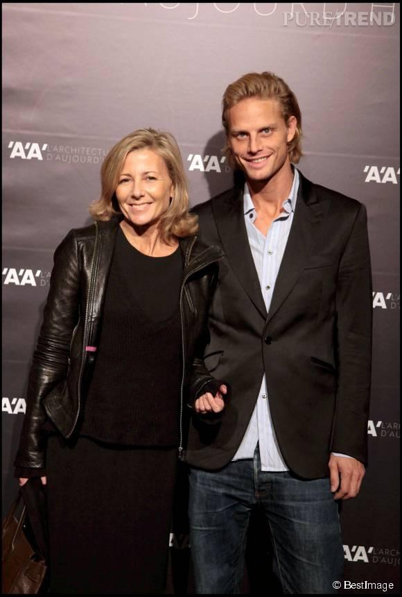 Claire Chazal et Arnaud Lemaire, en novembre 2009.