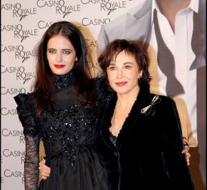 Marlène Jobert et sa fille Eva Green.