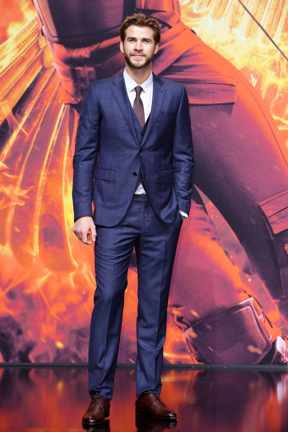 Liam Hemsworth, le beau gosse du film sur son 31.