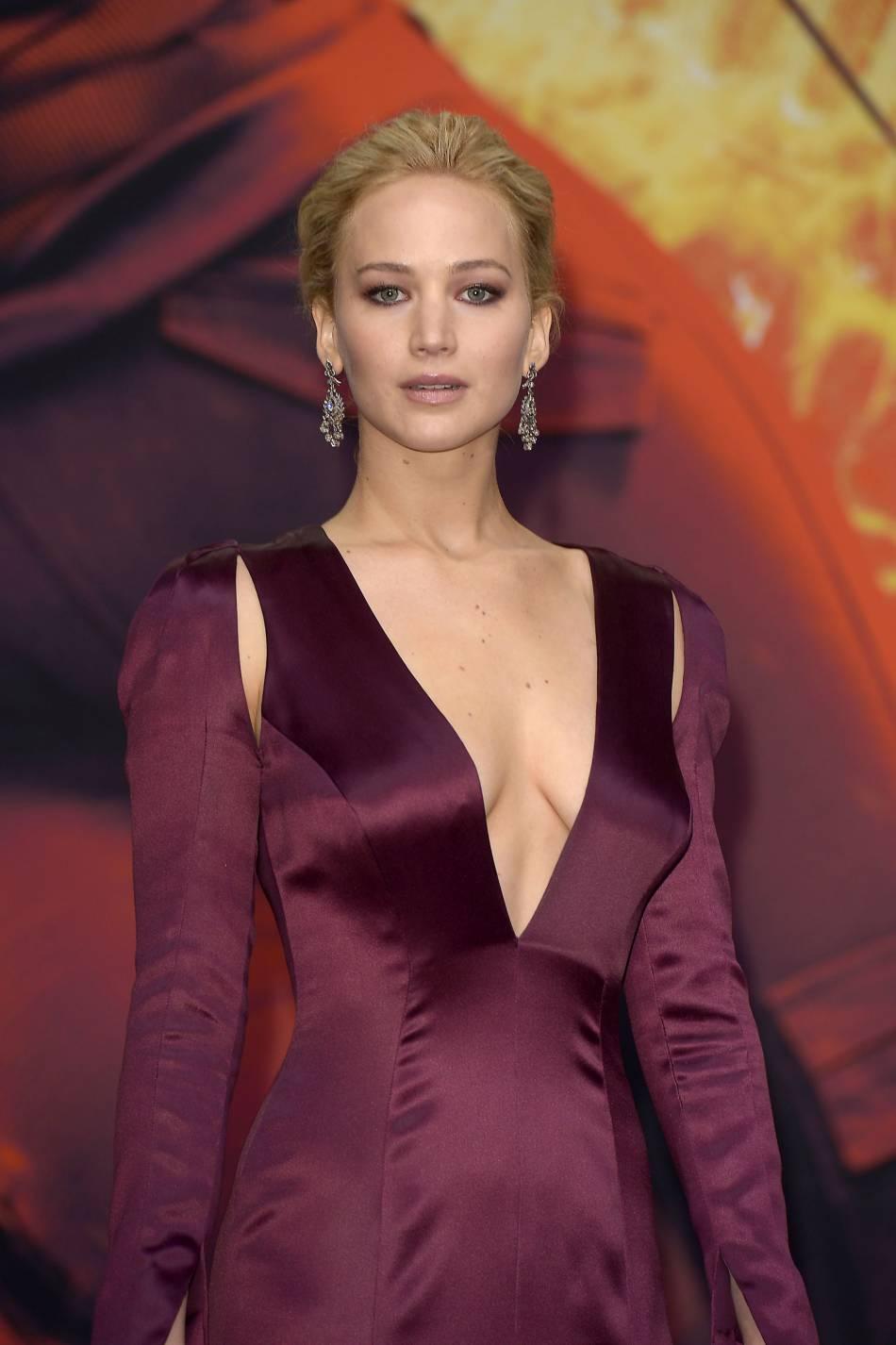Jennifer Lawrence a mis Berlin à ses pieds.