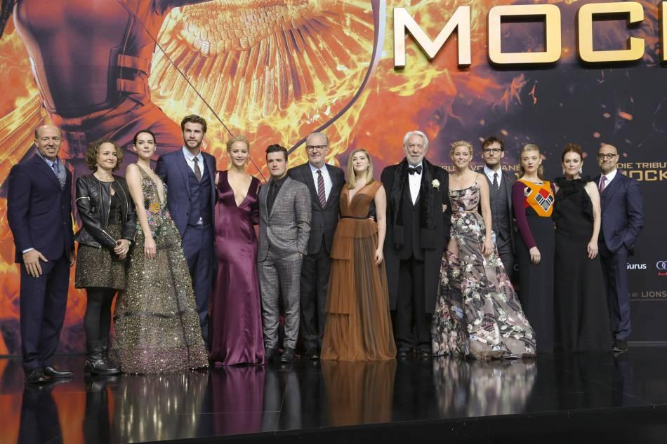 Tout le casting de la célèbre saga était au rendez-vous.