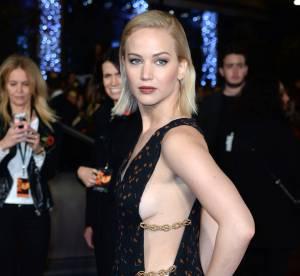 Jennifer Lawrence : un sideboob renversant à Londres
