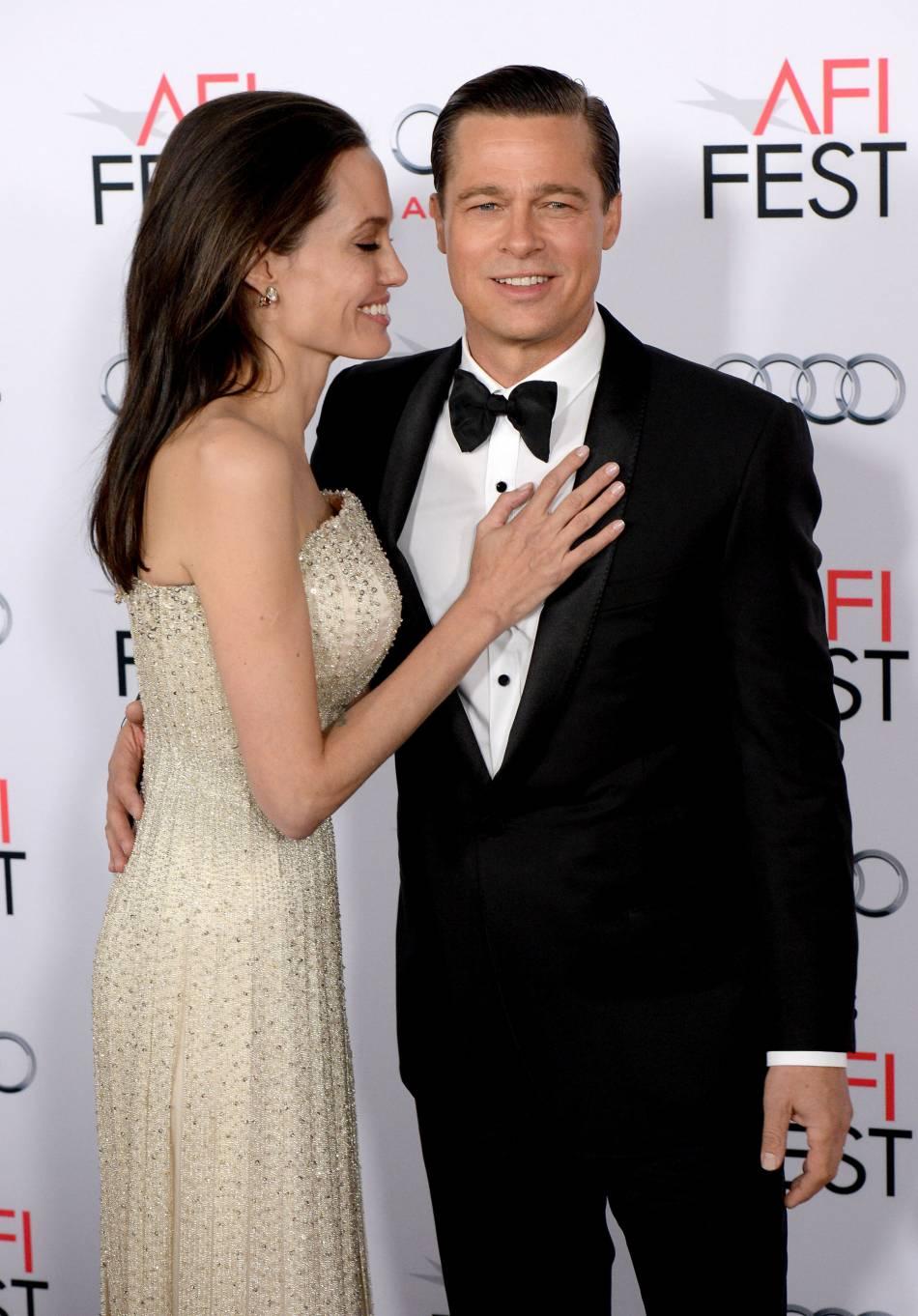 Brad Pitt et Angelina Jolie, un couple toujours aussi uni. Même sur red carpet.