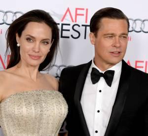 Brad Pitt dévoile sa nouvelle coupe de cheveux au bras de sa femme