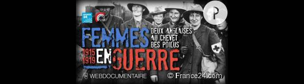 """""""Femmes en guerre. Deux Anglaises au chevet des poilus (15-19)""""."""