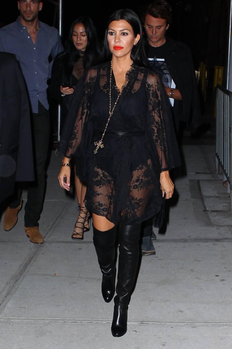 Kourtney Kardashian, beaucoup plus sexy depuis qu'elle a quitté Scott Disick