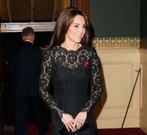 Kate Middleton : dentelle, transparence et sex-appeal sous les yeux de la reine