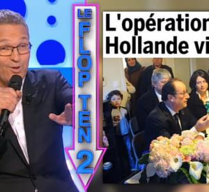 """Laurent Ruquier et son célèbre Flop Ten dans """"On n'est pas couché"""""""