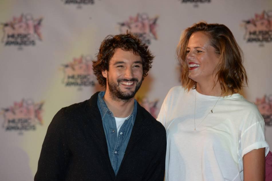 Laure Manaudou et Jérémy Frérot lors des NRJ Music Awards 2015.