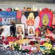 Parmi les séance déjà filmée, les deux actrices se recueillant sur un autel dressé en hommage à Kate Moss visiblement disparue.