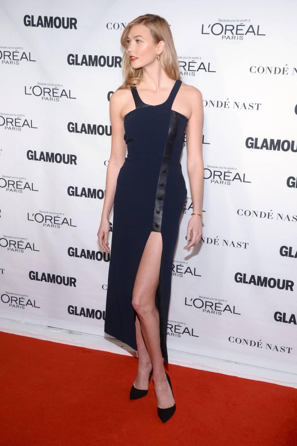 Karlie Kloss aux Glamour Awards le 9 novembre 2015 à New York.