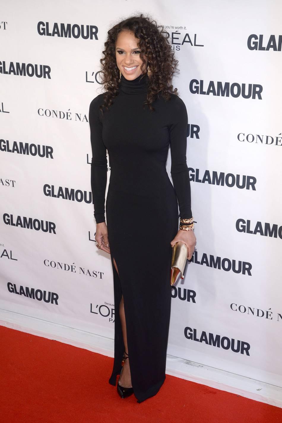 Misty Copeland aux Glamour Awards le 9 novembre 2015 à New York.