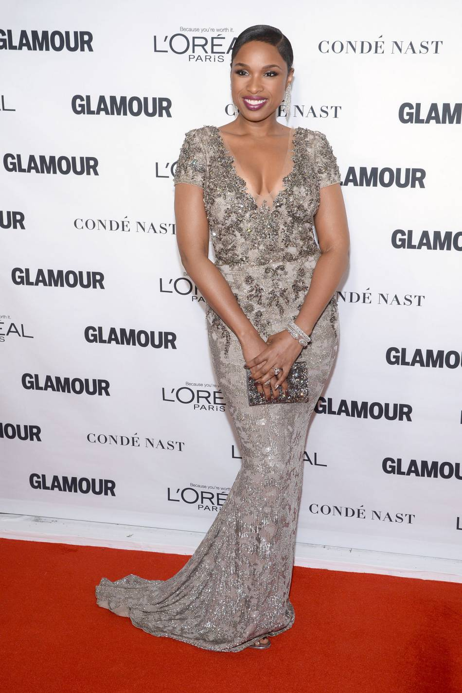Jennifer Hudson aux Glamour Awards le 9 novembre 2015 à New York.