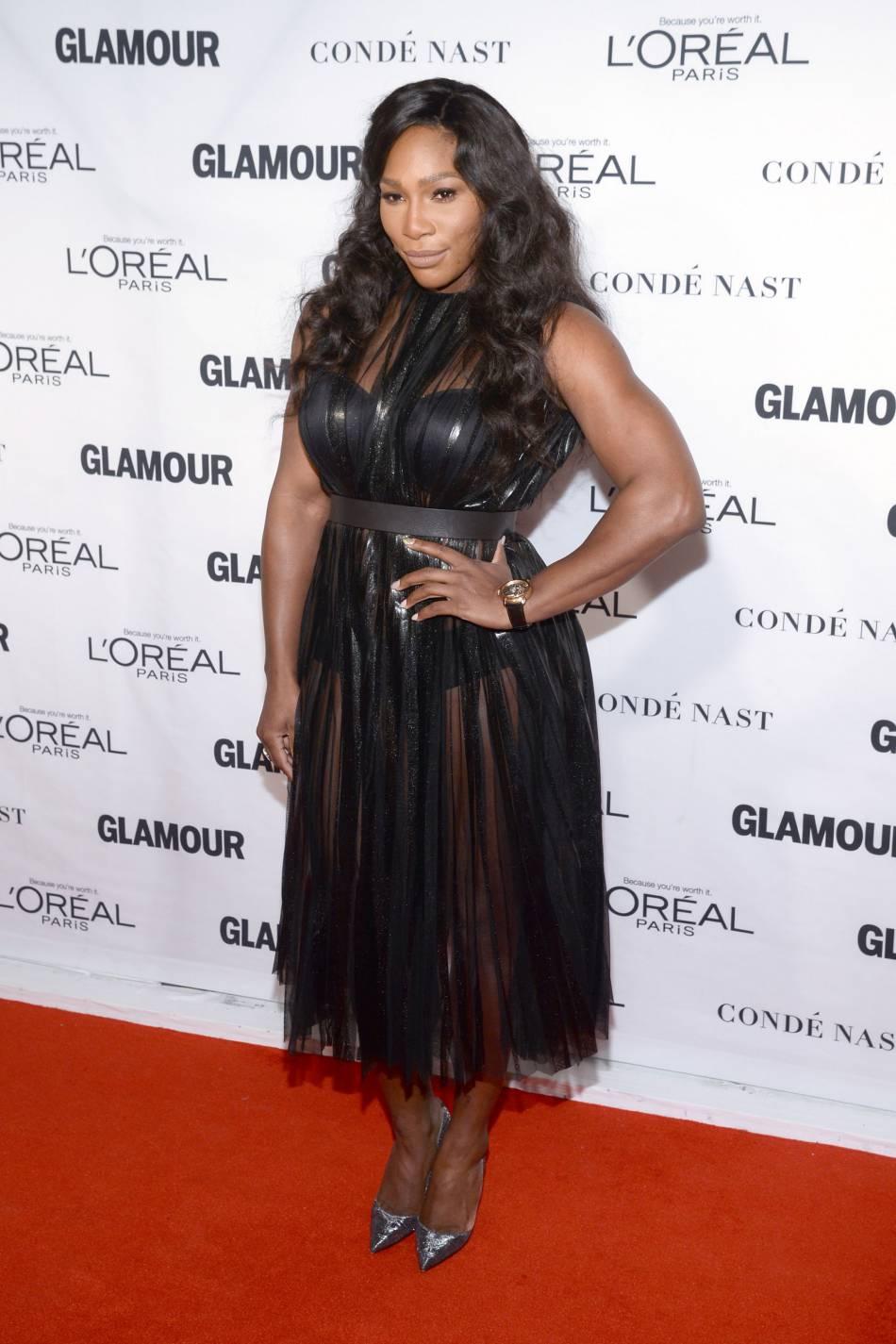 Serena Williams aux Glamour Awards le 9 novembre 2015 à New York.