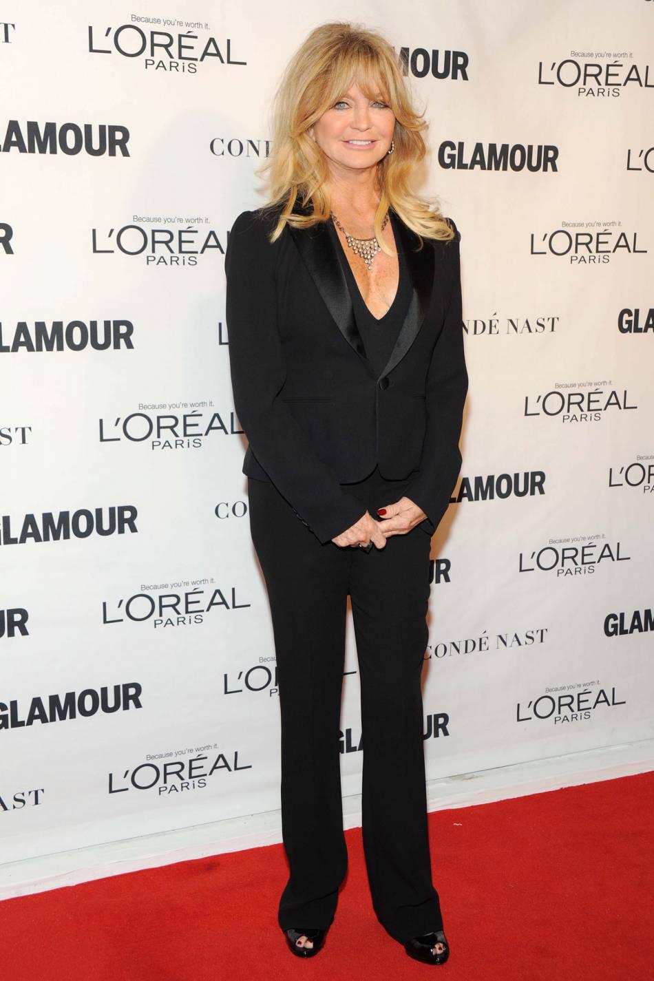 Goldie Hawn aux Glamour Awards le 9 novembre 2015 à New York.