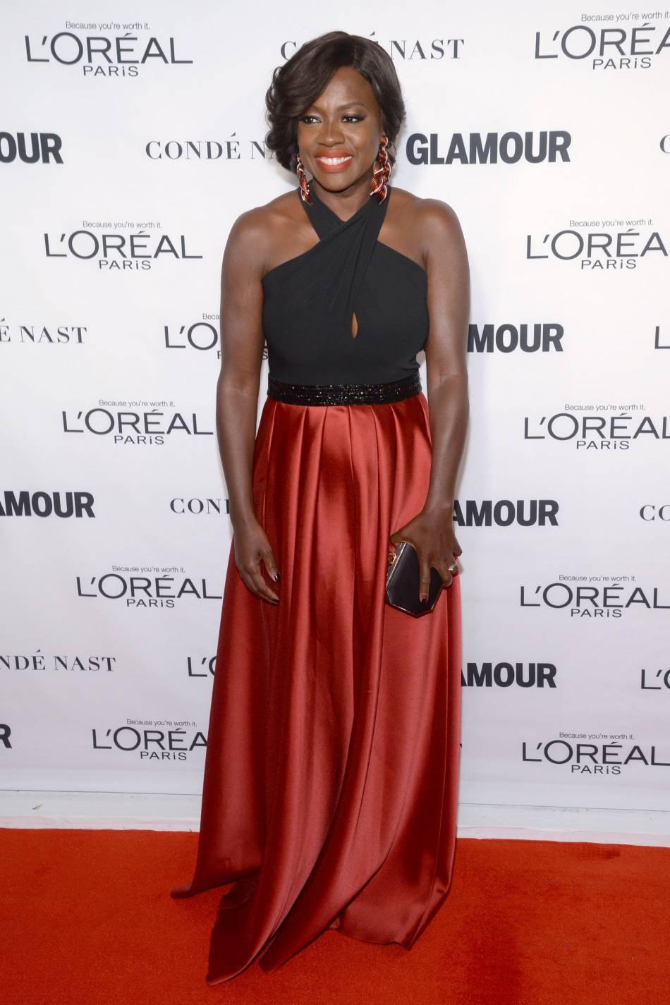 Viola Davis aux Glamour Awards le 9 novembre 2015 à New York.