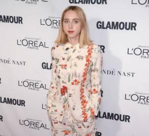 Zoe Kazan aux Glamour Awards le 9 novembre 2015 à New York.