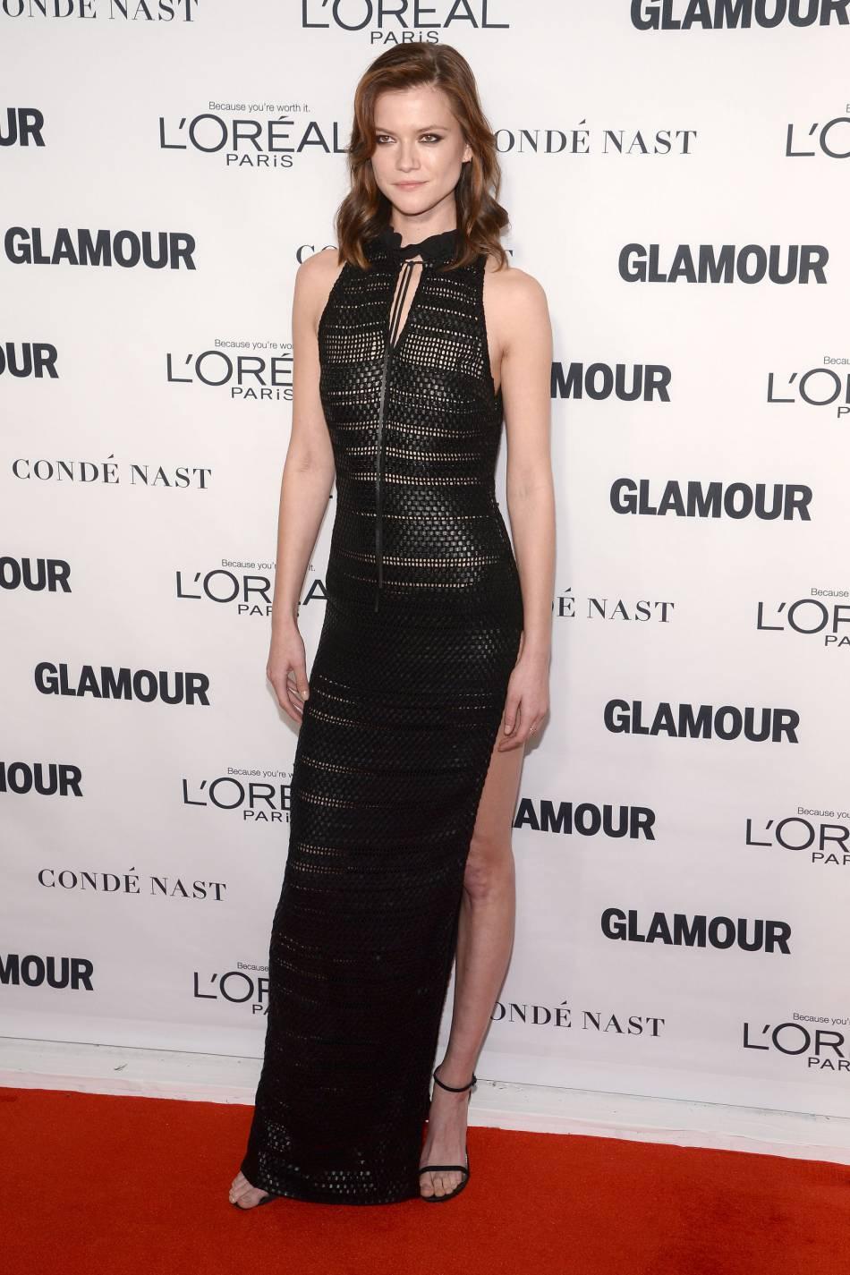 Le top Kasia Struss aux Glamour Awards le 9 novembre 2015 à New York.