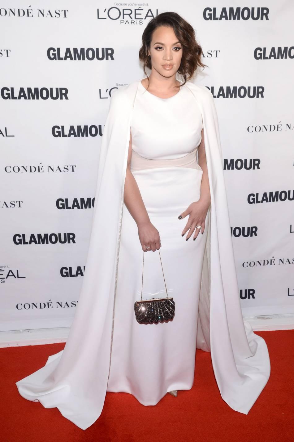 "Dascha Polanco de ""Orange is the new black"" aux Glamour Awards le 9 novembre 2015 à New York."