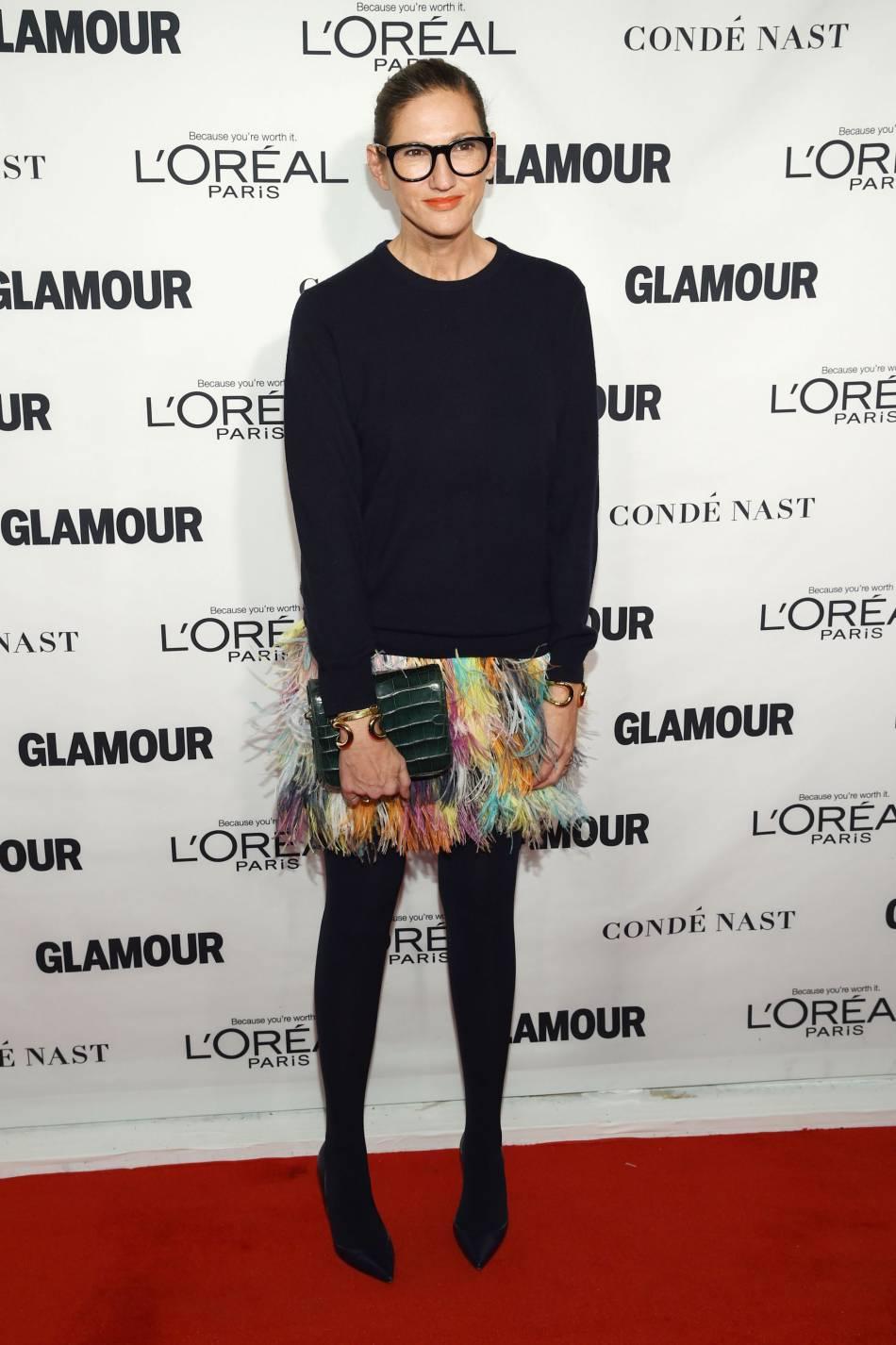 Jenna Lyons aux Glamour Awards le 9 novembre 2015 à Los Angeles.