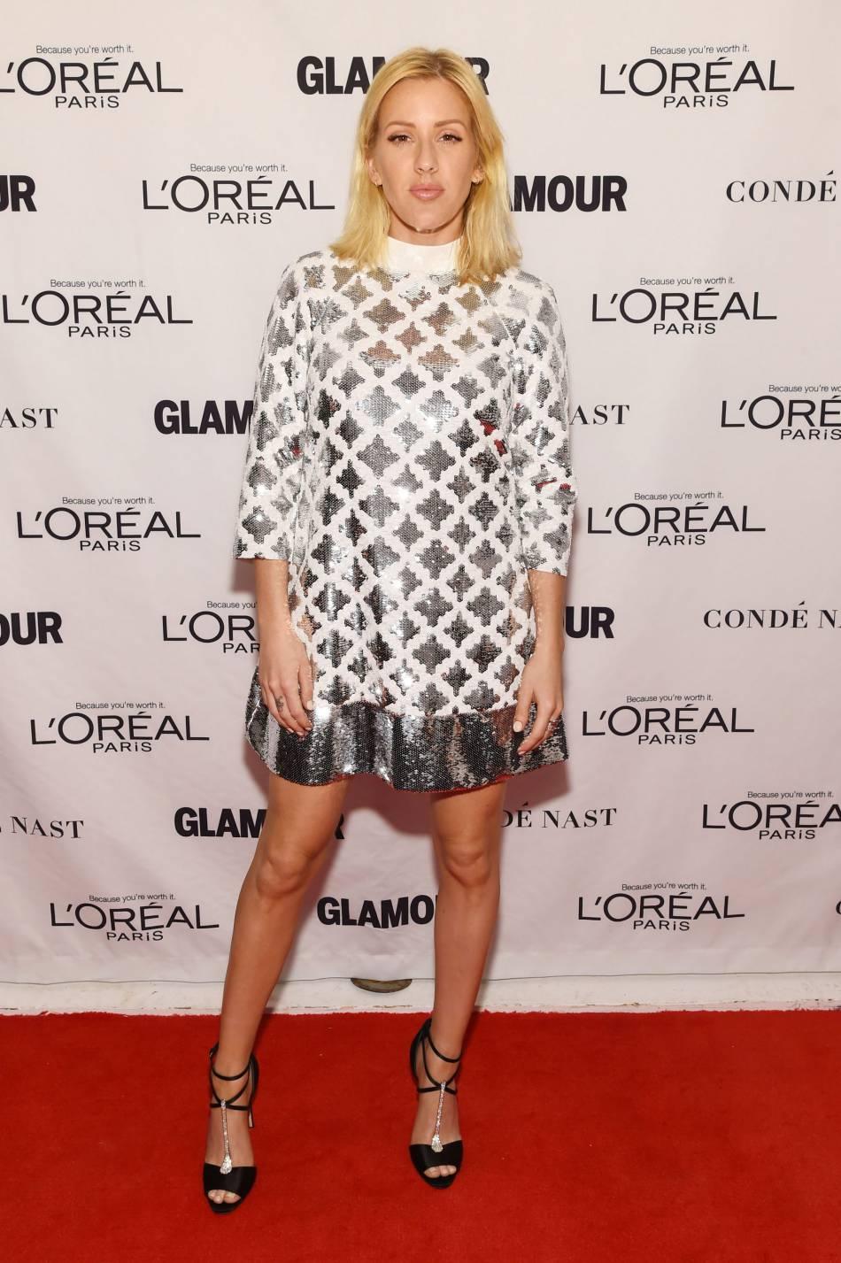 Ellie Goulding aux Glamour Awards le 9 novembre 2015 à Los Angeles.